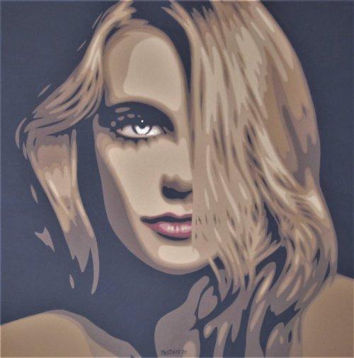 Sabina, la modella magiara - 2020 - cm 80x80