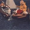Col pentolino - 1989, cm. 50x40