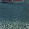 La barca rossa - 1984, cm. 50x70