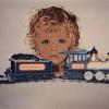 Il mio primo trenino - 1992, cm. 60x50
