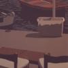 Barche e sedie - 1984, cm. 45x90