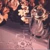 I fiori e l'argento sulla vecchia tovaglia della nonna - 1995, cm. 100x50