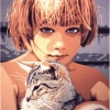 I due felini - 1995, cm. 60x80