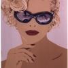 La bionda con gli occhiali - 1995, cm. 50x70