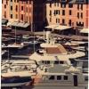 Portofino e gli Yachts - 1990, cm. 50x70