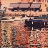 Portofino nei riflessi - 1991, cm. 90x45