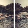 Portofino dalla piazzetta - 1995, cm. 80x60