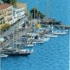 Barche d'epoca a Porto Santo Stefano - 2001, cm. 60x80