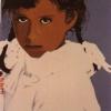 Le treccine - 1988, cm. 50x70