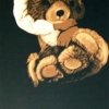 La sera - 1988, cm. 45x90