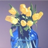 I tulipani - 2004, cm. 100x100
