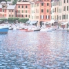 I colori di Portofino 2002, cm. 70x70