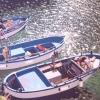 Tre barche nella luce - 2006, cm. 70x100