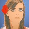Quel fiore rosso - 2007, cm. 100x100