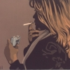 La sigaretta - 1977 - cm 60x50