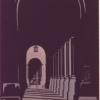 Il portico (olio su tela) - 1971 - cm 50x60