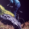 In mountain bike - 1992 - cm 60x80