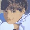 Il sorriso, gi occhi chiari e le lentiggini - 1997 - cm 50x60