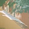 La scala di Buda - 1979 - cm 70x70
