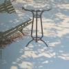 Il tavolino solitario - 2005 - cm 50x50