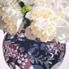 Le peonie bianche - 2006 - cm 100x100