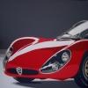 Per i 100 anni dell'Alfa - 2010 - cm 100x100