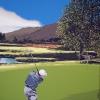 Il golf - 2010 - cm 100x100