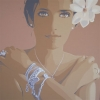 Con la gardenia e con l'argento - 2016 - cm 100x100