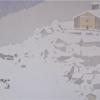 La fitta nevicata - 2021 - cm 100x60