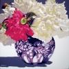 Peonie nel vaso di famiglia - 2019 - cm 90x90