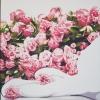 Cento rose ai tuoi piedi! - 2016 - cm 90x90