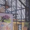 Il quadro nella serra - 2016 - cm 100x70