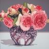 Le rose nel vaso di famiglia - 2017 - cm 100x100