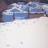 La neve si sta sciogliendo - 2018 - cm 90x100