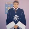 Il Cavaliere - 2008, cm. 100x100