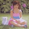 Arianna e il suo inseparabile amico - 2009, cm. 80x80