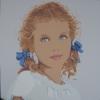 La ragazza col cielo negli occhi - 2012, cm. 100x100
