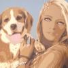 Julie e Cleopatra - 2020 cm 100x60
